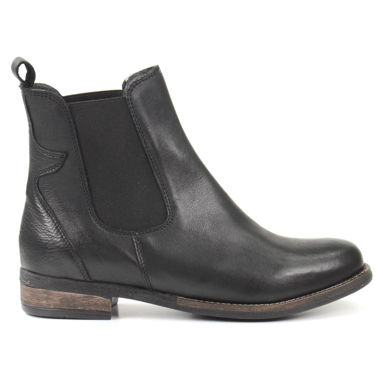 Lage chelsea boots zwart chelsea boots SACHA