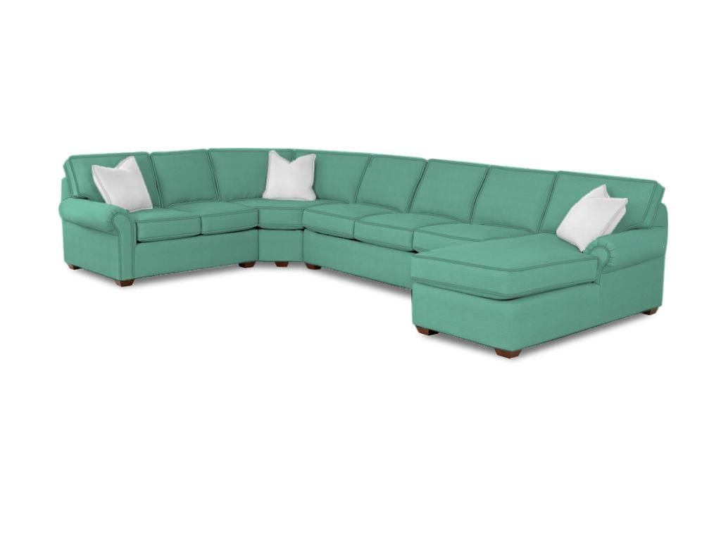 Shop for klaussner selma fabric sectional kfabsect and