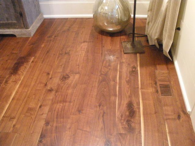 Wide Plank Walnut Tung Oil Cottage Renovation Walnut Floors Flooring