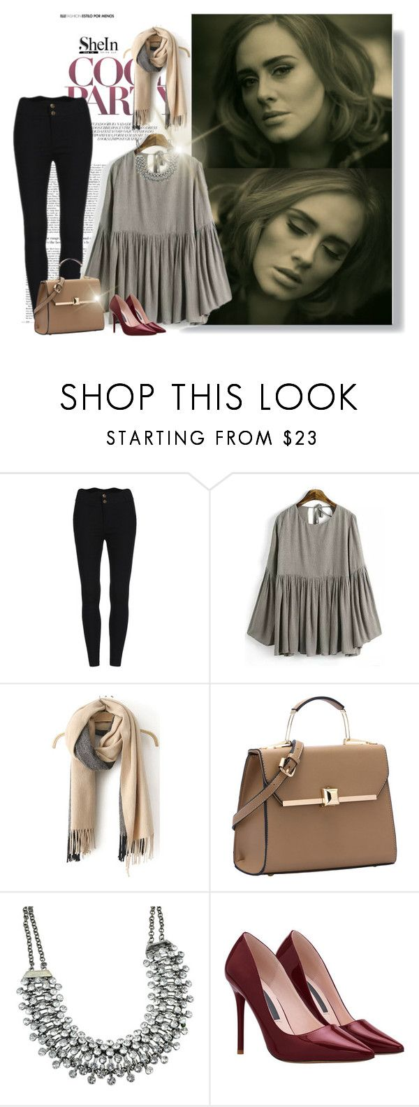 """""""Hello Blouse"""" by prettysexiness ❤ liked on Polyvore featuring women's clothing, women, female, woman, misses and juniors"""