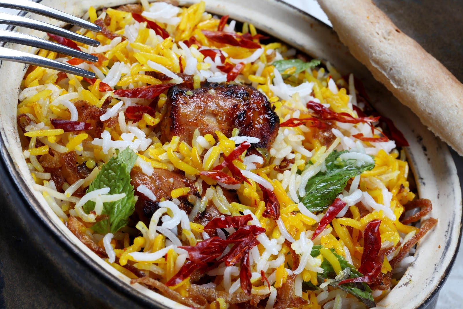 Recipe gosht awadhi biryani daily bread pinterest for Awadhi cuisine vegetarian