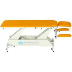 Photo of Delta therapy couch Dp4 with wheel lifting system and all-round switching Lojer