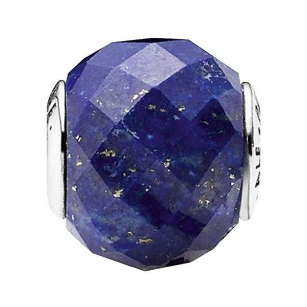 b94d7ecd0 Pandora Charm - Sterling Silver & Lapis Lazuli Peace, Essence... ($50) ❤  liked on Polyvore featuring jewelry, pendants, blue, pandora jewelry, blue  charm, ...