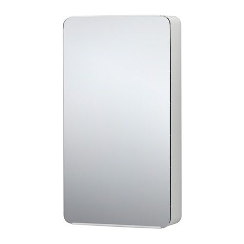 BRICKAN Szafka z lustrem, biały | Spiegelschrank, Ablage und Ikea