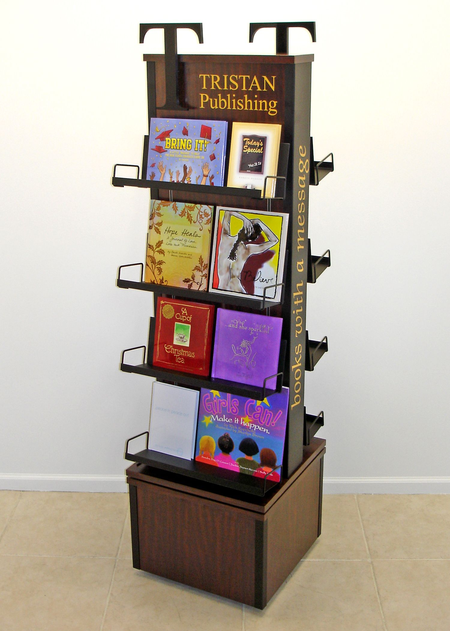 book publishing pos display pop display point of sale wood