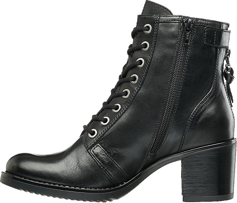 Schnurstiefelette Von 5th Avenue In Schwarz Deichmann Com Boots Shoes Combat Boots