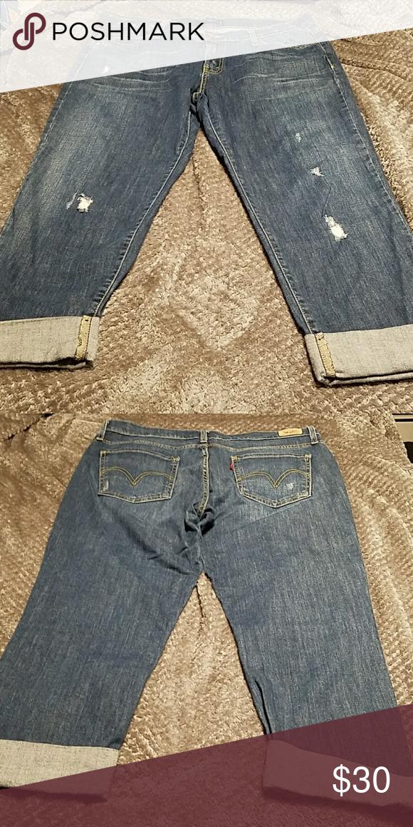 f131aba27e8 I just added this listing on Poshmark: Levi Jean Capri pants. #shopmycloset  #poshmark #fashion #shopping #style #forsale #Levi's #Denim