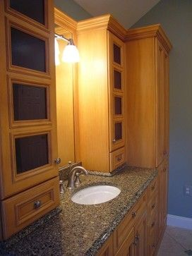 Bathroom Cabinets Storage Home Decor Ideas - modern - bathroom storage - columbus - LilyAnn Cabinets