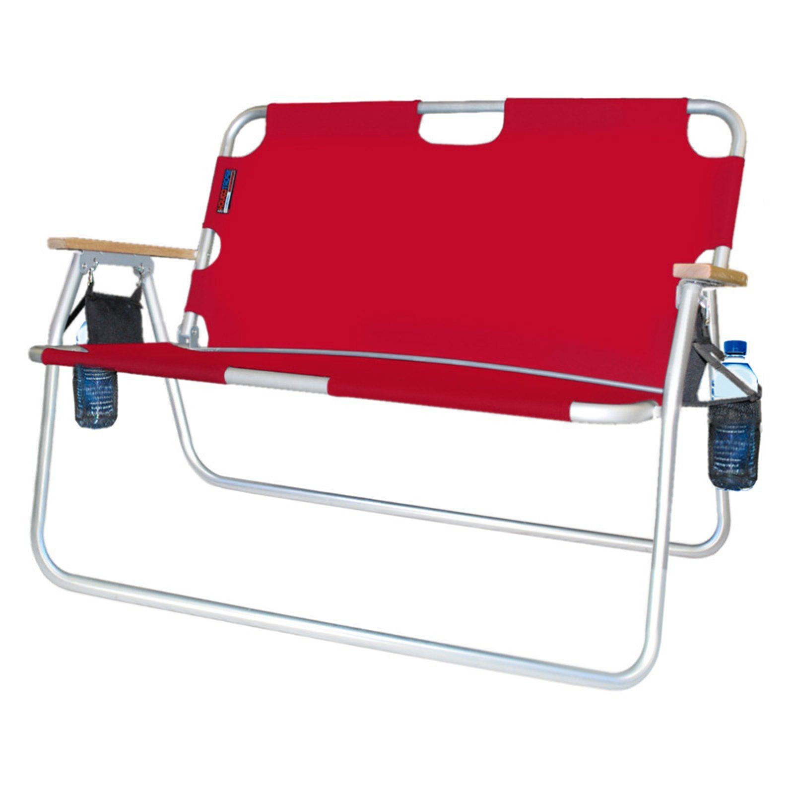 Double Seat Folding Chair Glider Nursery Outdoor Algoma Tailgater Lawn In 2019 Red