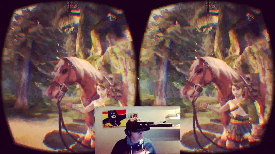 An awesome Virtual Reality pic! Be amazed by #thelegendofzelda #twilightprincess in #Virtualreality! I was completely bedazzled by the beauty of the game in my Rift. VR really works out for this game! It's a shame #nintendo doesn't want to get into #VR. Games like this deserve it. You can watch the gameplay material on http://bit.ly/1Llntzz http://bit.ly/1QtWzNJ and VRBITES.com. you can also find a #guide on VR Bites explaining how to play games like zelda with your #oculusrift. Please let…