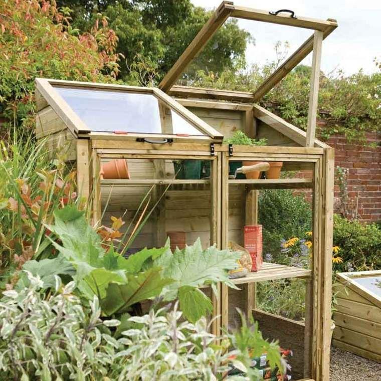 petite serre de jardin choix et conseils pinterest petite serre serre et en bois. Black Bedroom Furniture Sets. Home Design Ideas