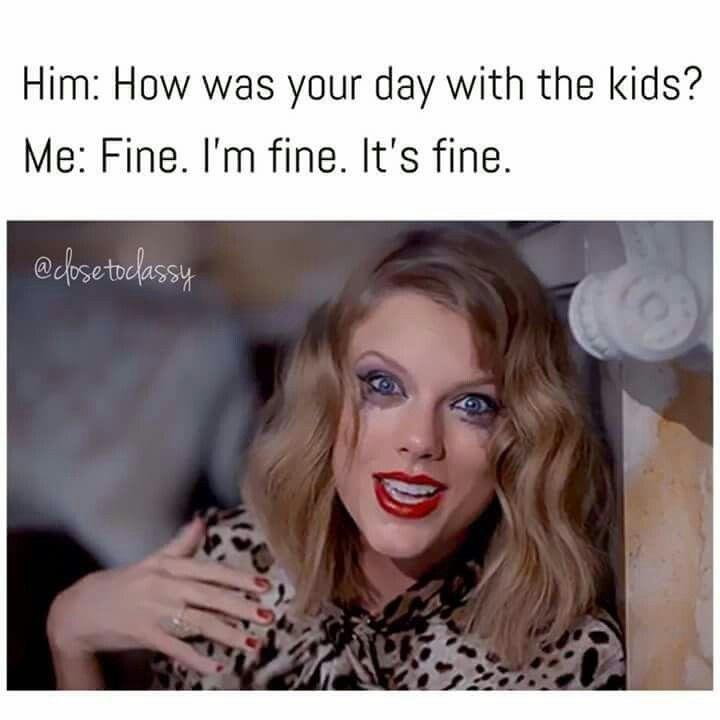 I M Fine Mom Memes Mommy Humor Mom Humor