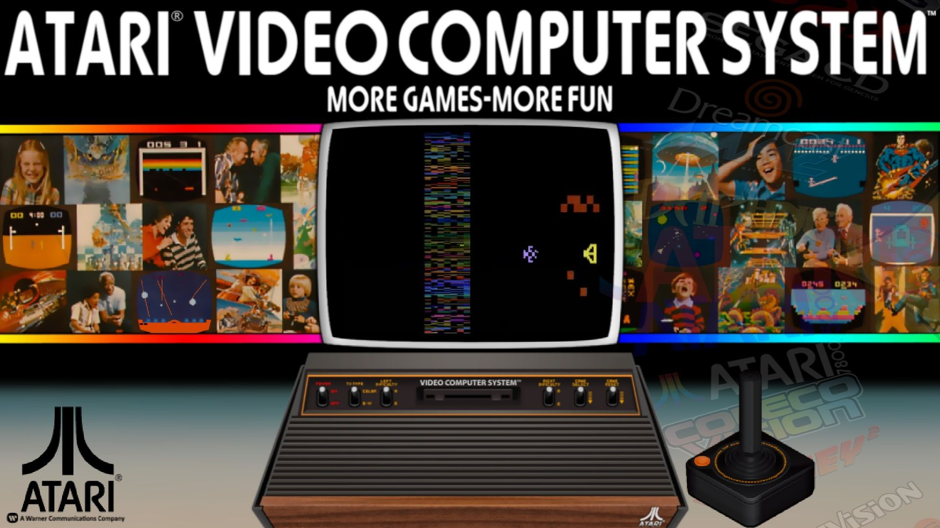 Krakerman's Atari 2600 HyperSpin themes project! | 1980's