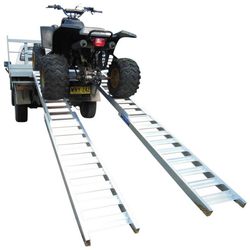Whipps Aluminium Folding Atv Loading Ramps With Images Loading Ramps Atv Loading Ramps Heavy Machinery