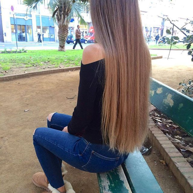 Yay Or Nay Credit Ameliecheval31 Hairsandstyles Ootd Long Hair Styles Hair Styles Long Hair Girl