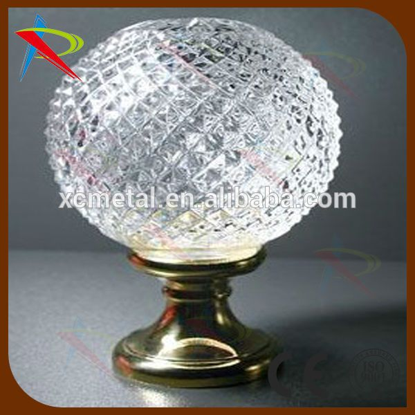Blown Stair Newel Post Finial From Crystal Magic Drapery , Find Complete  Details About Blown Stair