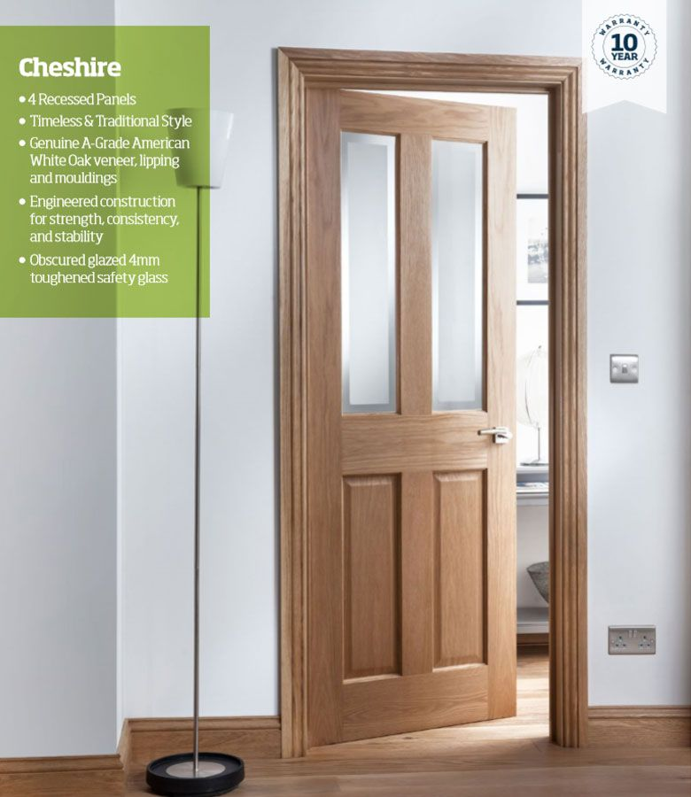 The cheshire range of oak doors is traditionally designed to add some class any home also light glazed internal door fire rh pinterest