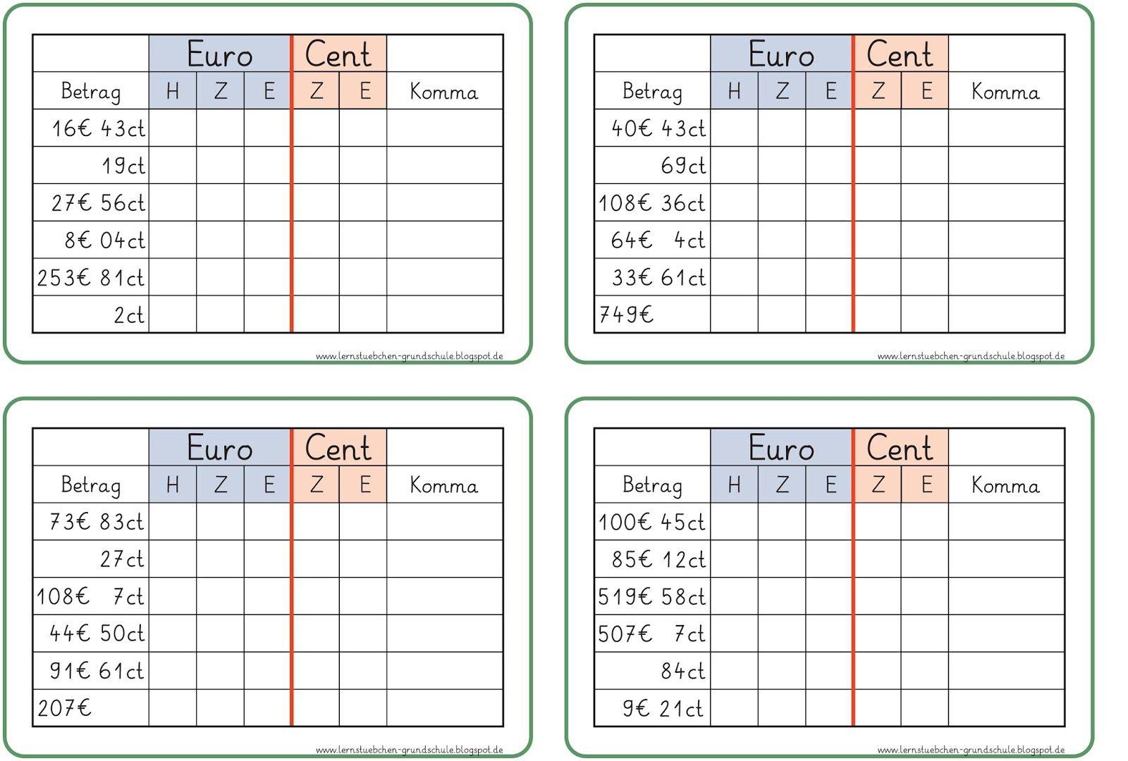 Kommaschreibweise+Tabelle-1.jpg 1.600×1.079 Pixel | Geld | Pinterest ...