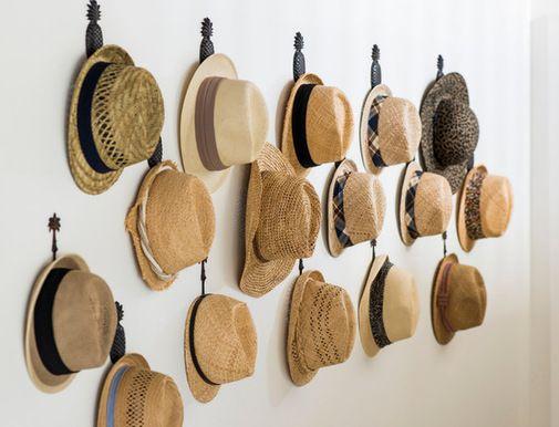 Hat storage organization ideas google search sombreros - Percheros para sombreros ...