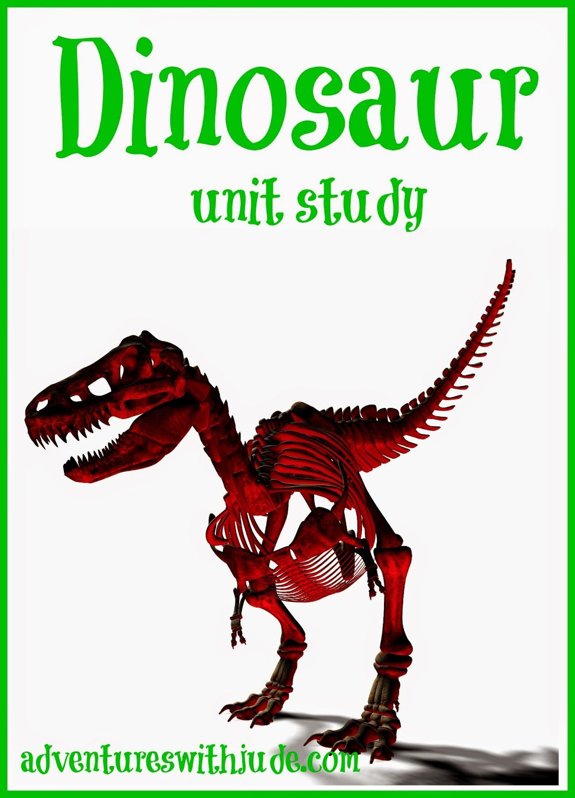 Our Dinosaur Unit Study Homeschool Unitstudy