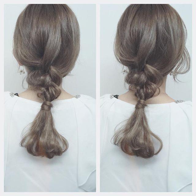 暗めと明るめどっちが好み 人気 アッシュベージュ で大人女子に 画像あり アッシュベージュ 髪飾り ヘアカラー