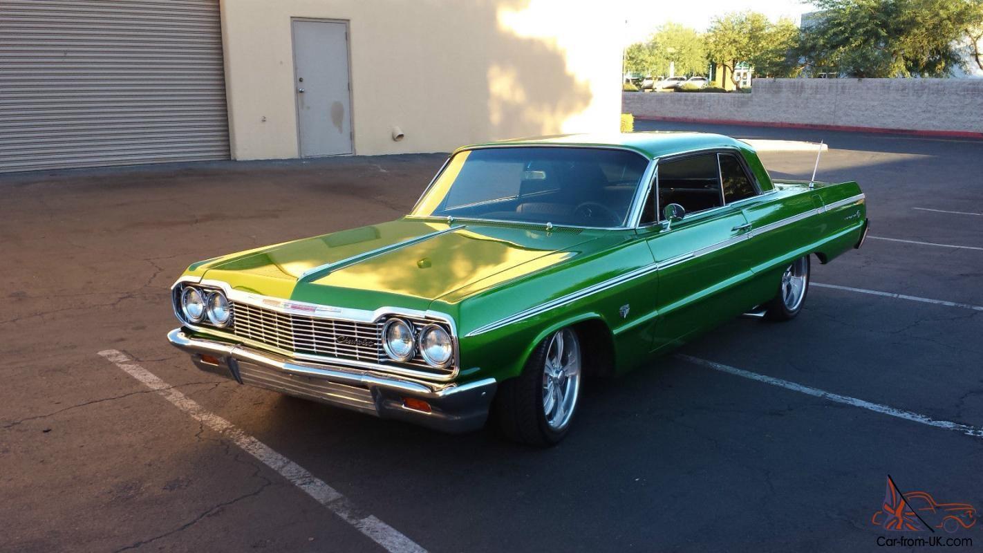 1964 green impala