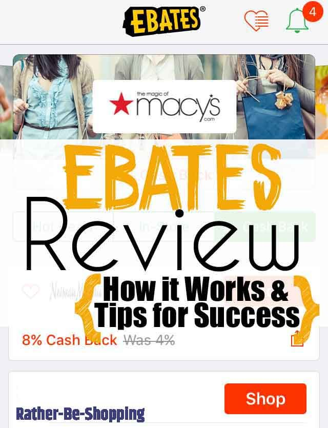 Ebates Review Is It Legit How Does It Work Plus Some Tips For