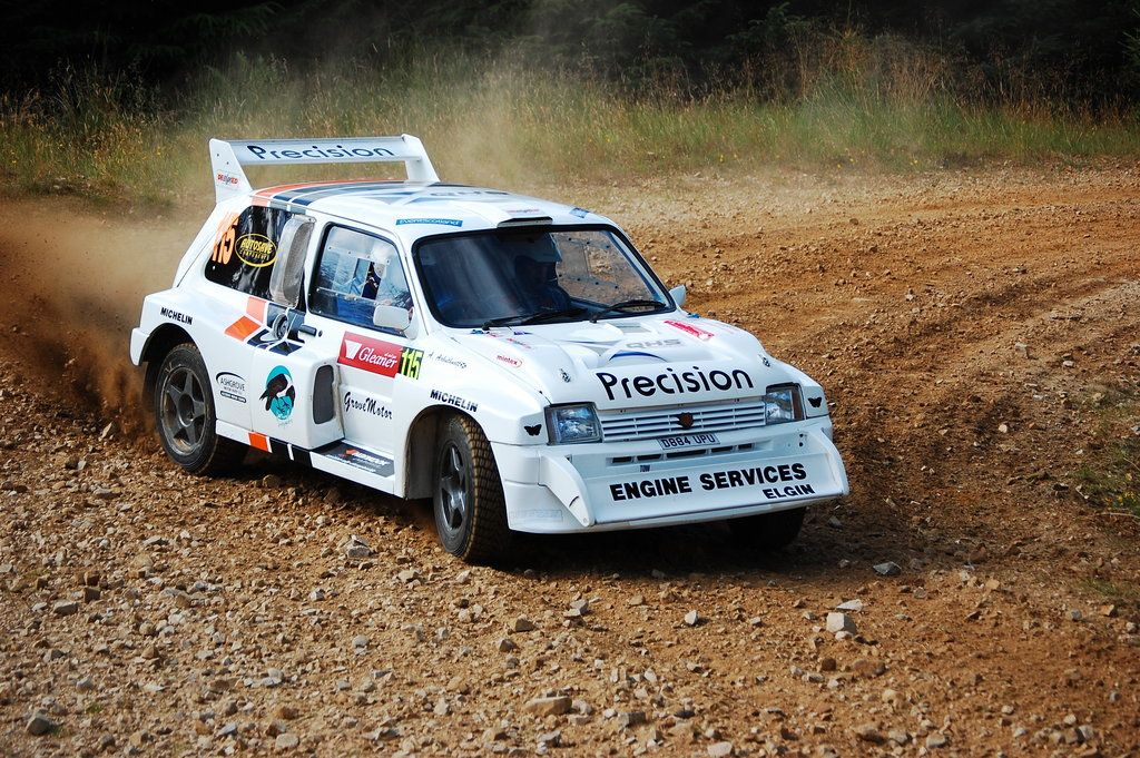 Metro 6R4 rally car - speyside 09 - sandy arbuthnott by boybeck ...