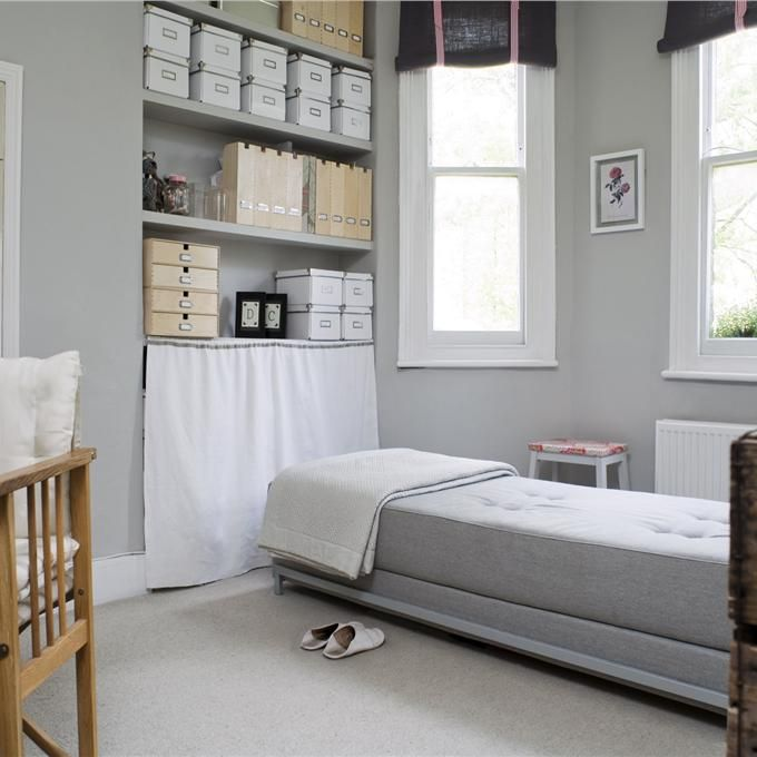 Study In Pavilion Gray All White Paint Colors Pinterest Farrow Ball Pavilion And