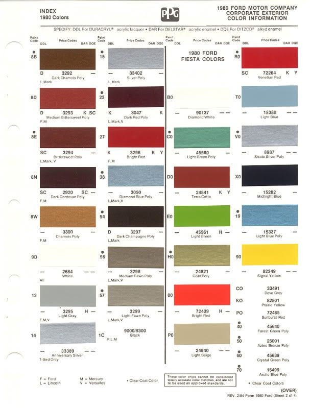 1980 86 ford paint chips not 56k friendly ford truck rh pinterest com 1982 Ford Truck 1980 ford truck paint colors