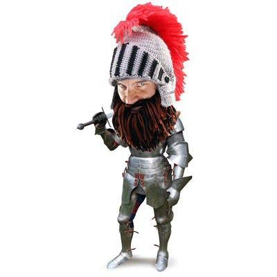 2f5465d7ce0 Barbarian Knight Beard Head - Be the warm bearded manly man that you are!