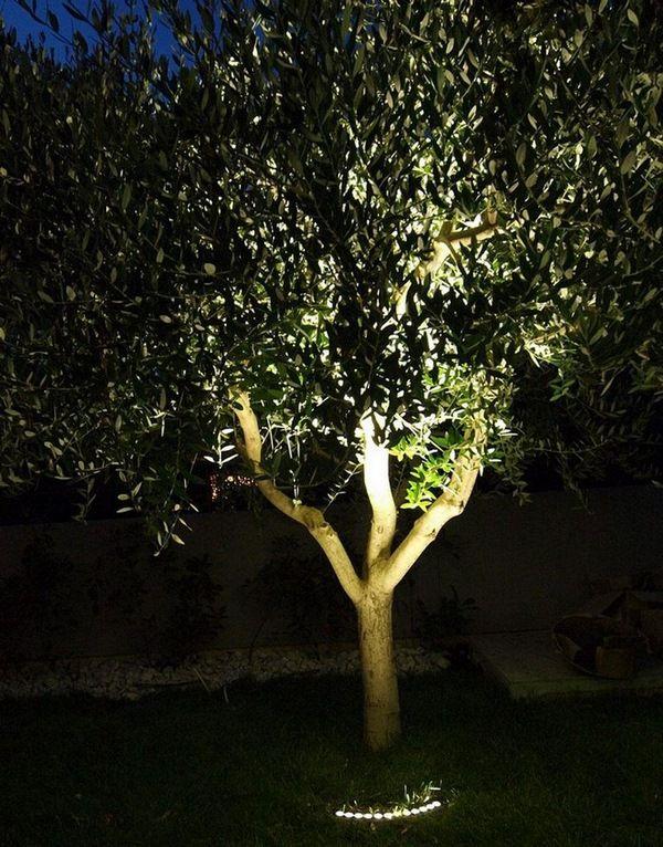 LED outdoor lighting garden tree lighting iGuzzini LunUp ...