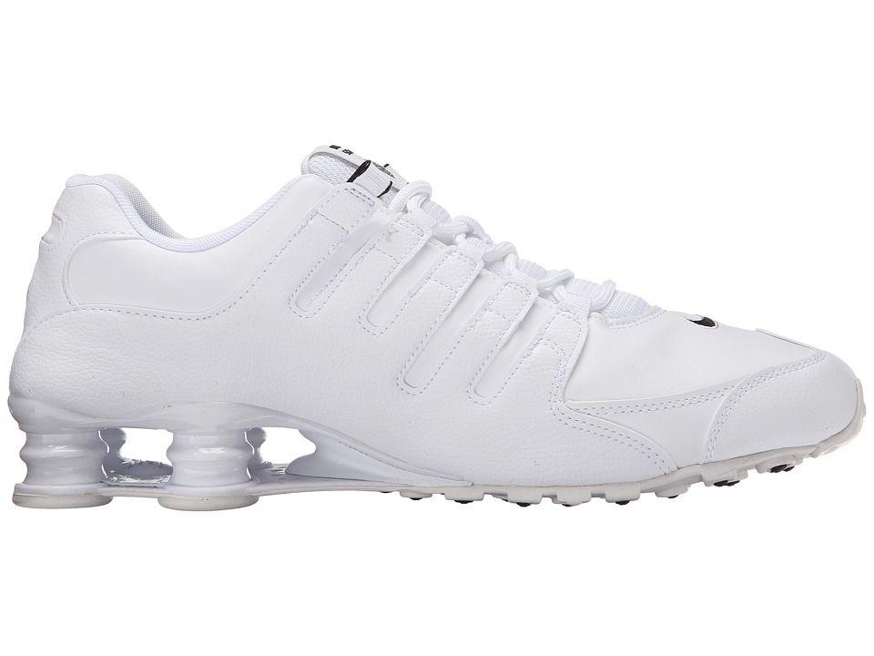 05c0ef0d95fa Nike Shox NZ EU Men u0027s Running Shoes White Black Triple White