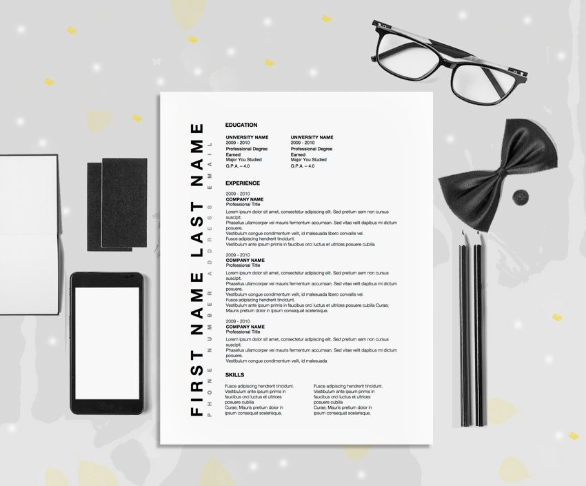 sophisticated resume design for microsoft word template by original resume design - Resume Ms Word Template