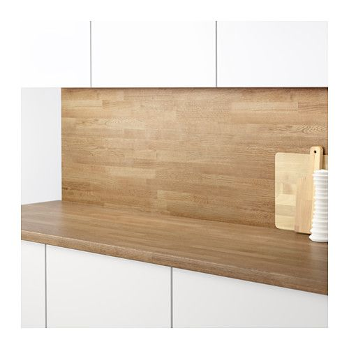 sibbarp wandpaneel maßgefertigt, eichenachbildung laminat   kitchens - Ikea Küche Wandpaneele