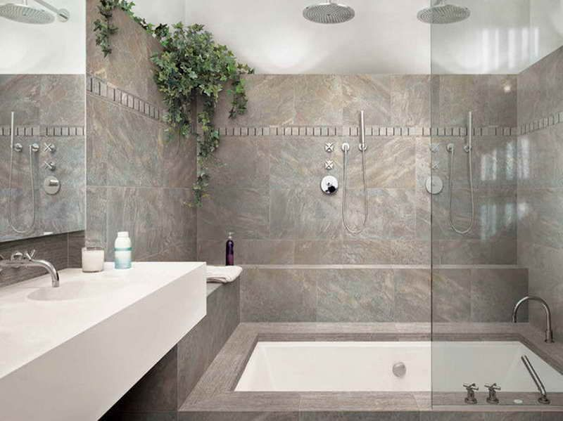 Bathroom Design Ideas With Grey Tiles bathroom tile color ideas - moncler-factory-outlets