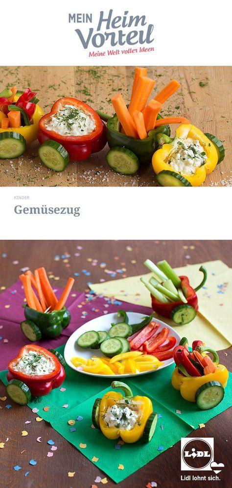 Photo of Alle einsteigen, der Gemüsezug fährt ab! #gemüse #gesund #karotten #paprika #…