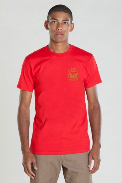 Regular fit basic short sleeve tee from Obey with a set in rib neck trim. Made in extra soft lightweight cotton.