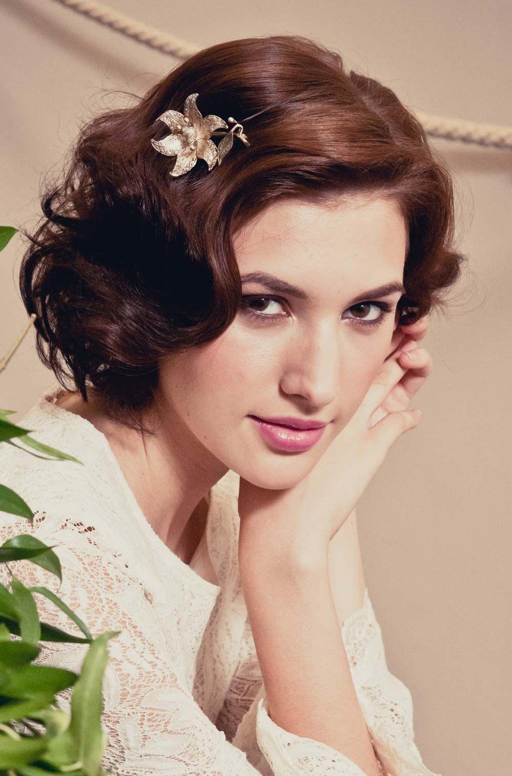 amazing wedding hairstyles for short hair | wedding hair