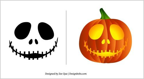 Halloween Free Scary Pumpkin Carving Patterns 2012 | 10 Scary ...