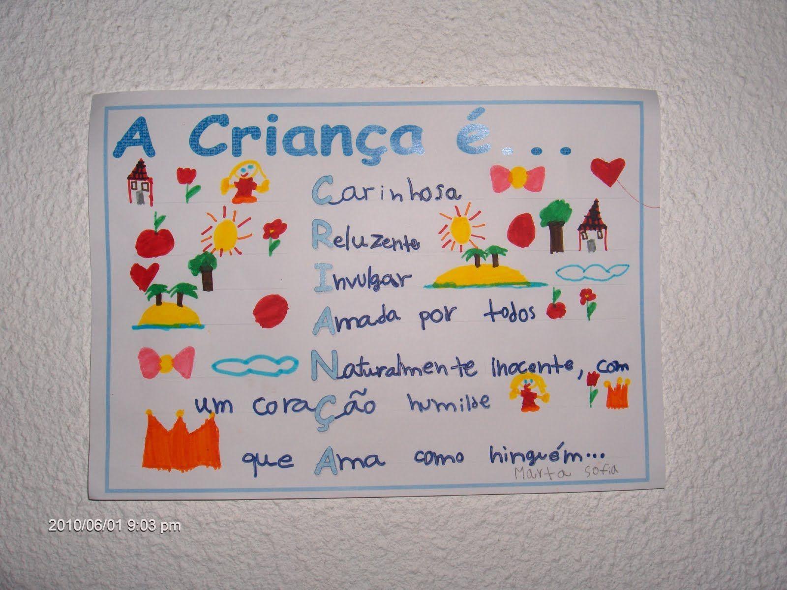 Resultado De Imagem Para Dia Mundial Da Criança Frases