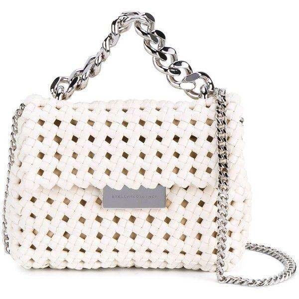 Stella McCartney mini  Becks  weave shoulder bag ( 1,433) ❤ liked on  Polyvore · Vegan HandbagsMini ... c56a909792