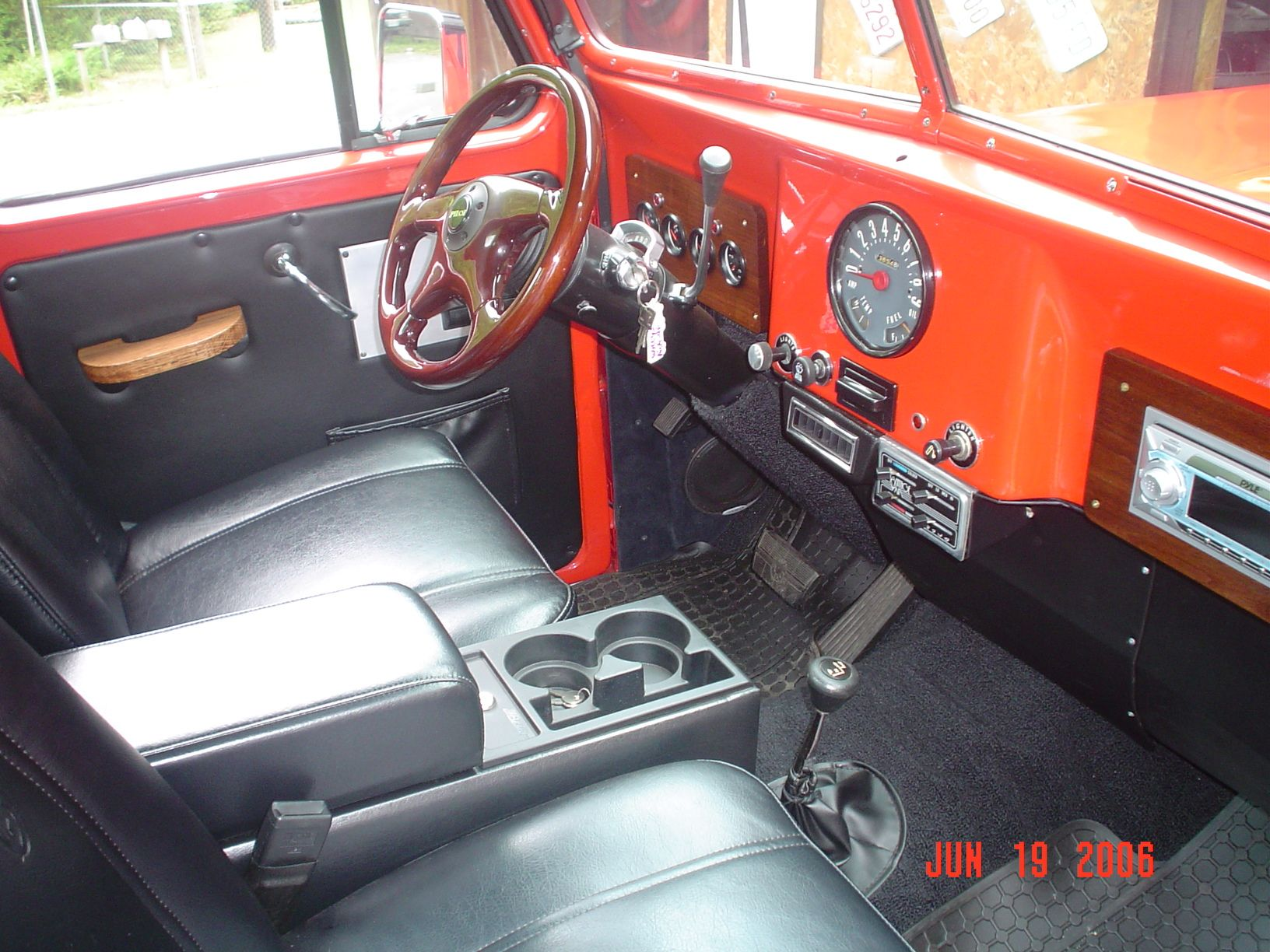 Dash Board Willys Willys Wagon Jeep