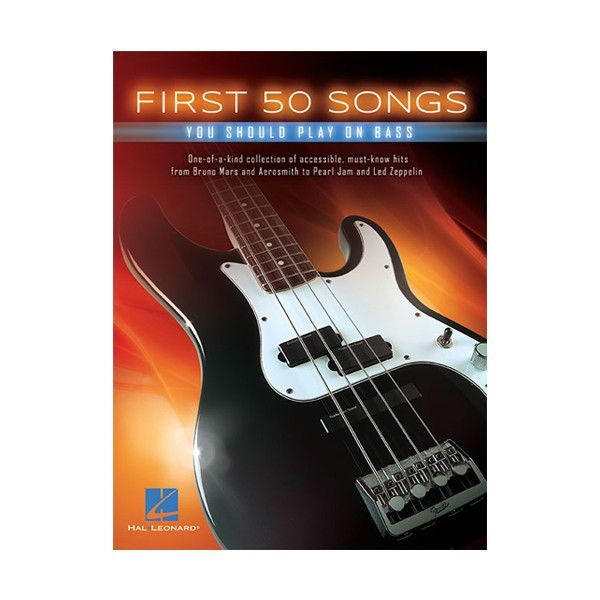 Hal Leonard First 50 Songs You Should Play on Bass | Bass and Products
