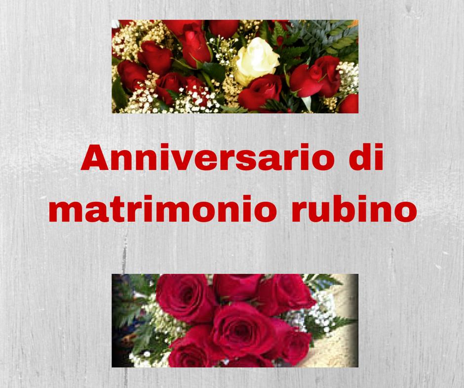Anniversario Di Matrimonio Quali Fiori Regalare.Anniversario Di Matrimonio Rubino Quali Fiori Regalare