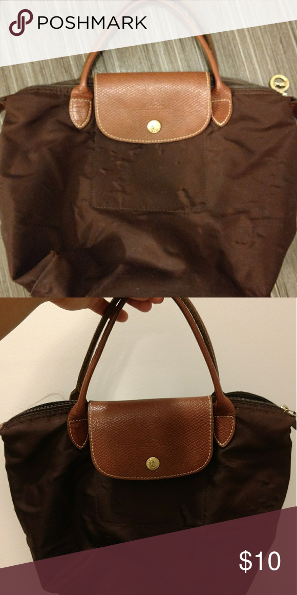 d0b01cce7c3 Small Longchamp bag Small sized, brown Longchamp Longchamp Bags Mini Bags