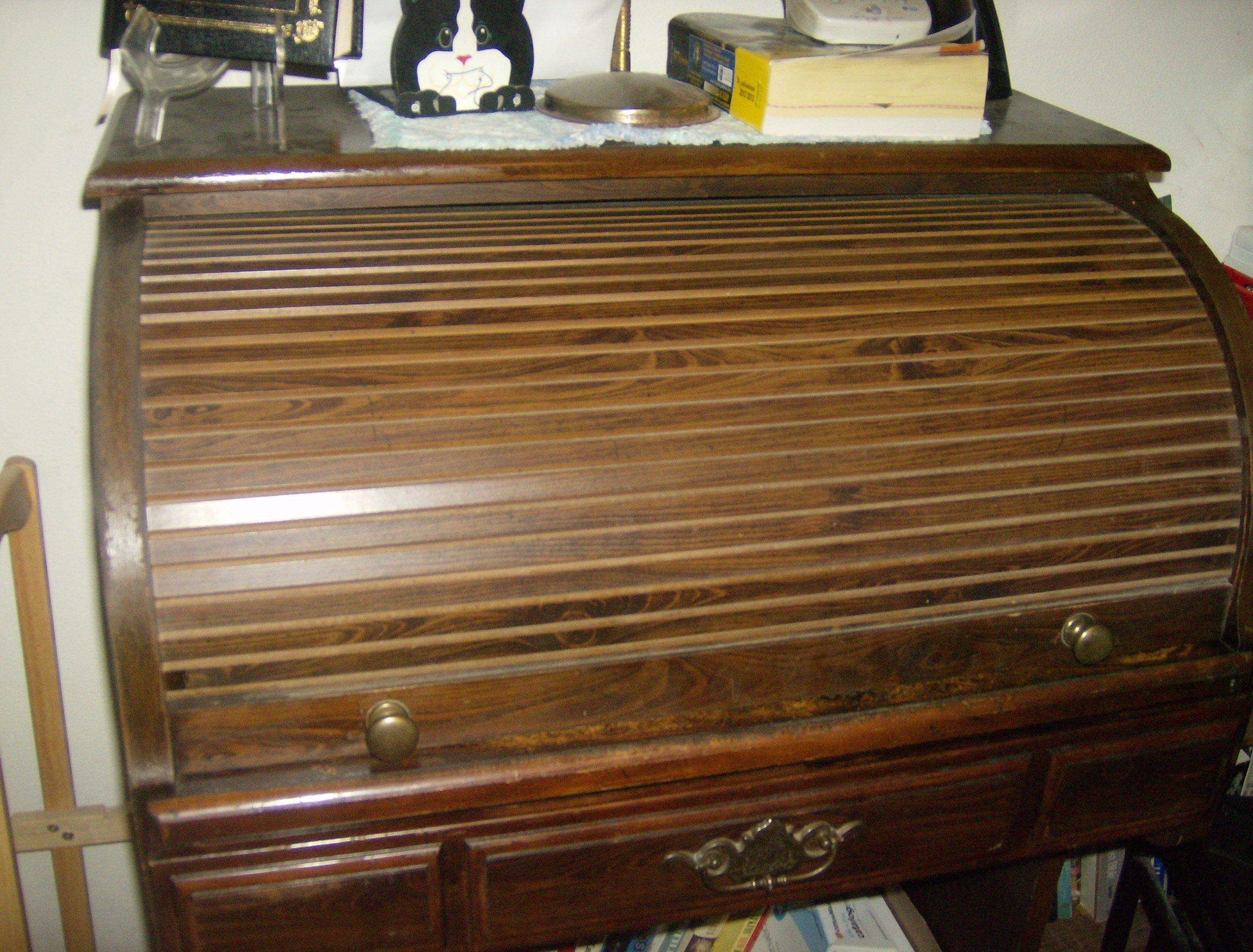Rolltop desk Rummage sale, Garage, Thrifting