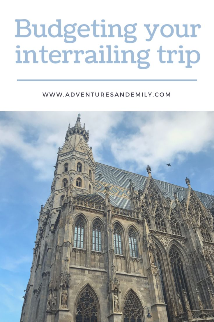I share my top tips on how to budget your interrailing trip - sharing my own story and how I spent my money!  #travel #travelblogger #traveltips #travelhacks #travelguide #interrail #europe #budgeting #moneyhacks #cheaptravel