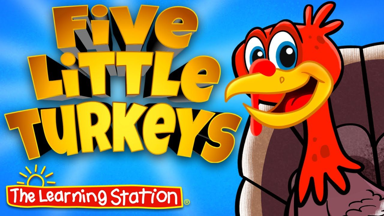 Uncategorized Free Kids Music Videos view for free thanksgiving song children animated music video five little turkeys