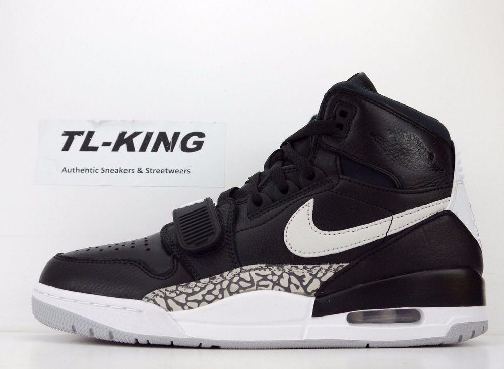 772ac9108901 Details about Nike Air Jordan Legacy 312 Black White Cement AV3922-001 Msrp   150 FV